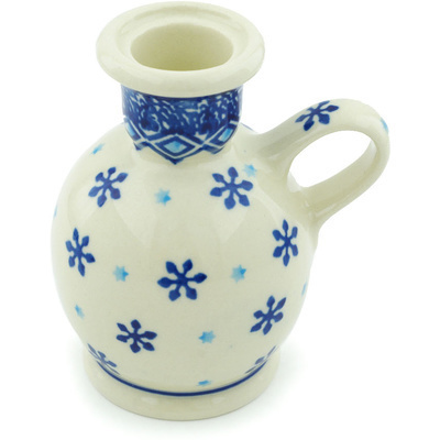 Polish Pottery 4-inch Candle Holder   Boleslawiec Stoneware   Polmedia H6733H