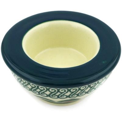 Polish Pottery 3-inch Candle Holder | Boleslawiec Stoneware | Polmedia H1810E