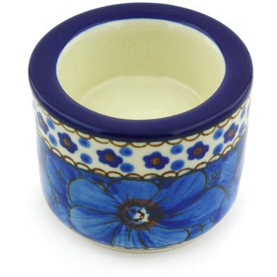 Polish Pottery 3-inch Candle Holder | Boleslawiec Stoneware | Polmedia H5080G