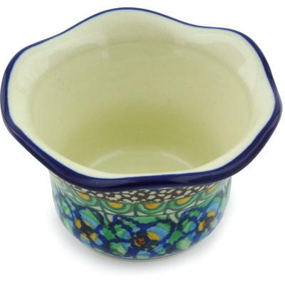 Polish Pottery 3-inch Candle Holder | Boleslawiec Stoneware | Polmedia H6659G