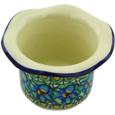 Polish Pottery 3-inch Candle Holder | Boleslawiec Stoneware | Polmedia H5856G