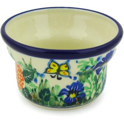 Polish Pottery 3-inch Candle Holder | Boleslawiec Stoneware | Polmedia H3505G