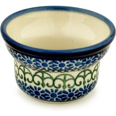 Polish Pottery 3-inch Candle Holder | Boleslawiec Stoneware | Polmedia H6861A