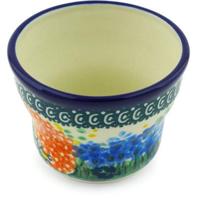 Polish Pottery 3-inch Candle Holder | Boleslawiec Stoneware | Polmedia H3613G