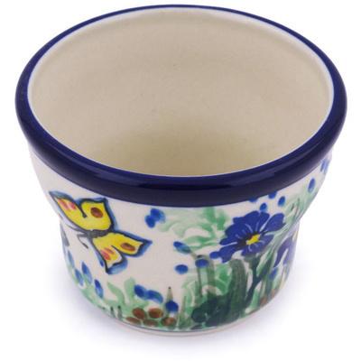 Polish Pottery 3-inch Candle Holder | Boleslawiec Stoneware | Polmedia H6677G