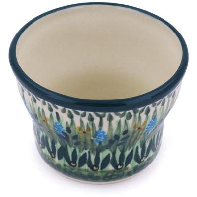 Polish Pottery 3-inch Candle Holder   Boleslawiec Stoneware   Polmedia H4659G