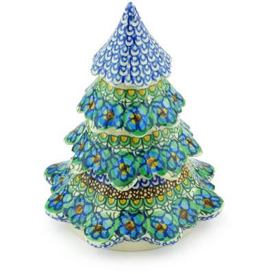 Polish Pottery 7-inch Christmas Tree   Boleslawiec ...