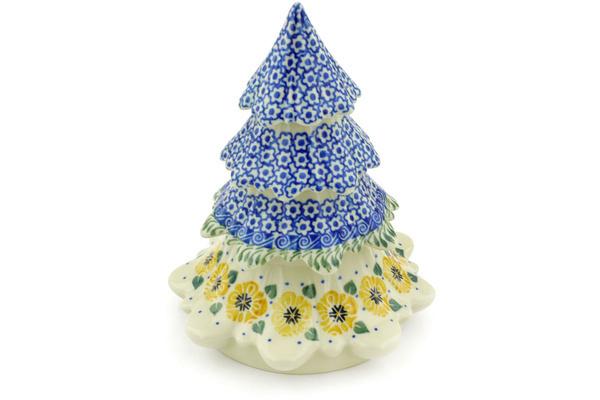 Polish Pottery 7-inch Christmas Tree