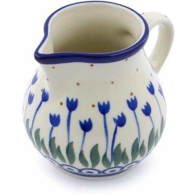 Polish Pottery 8 oz Creamer | Boleslawiec Stoneware | Polmedia H0536J