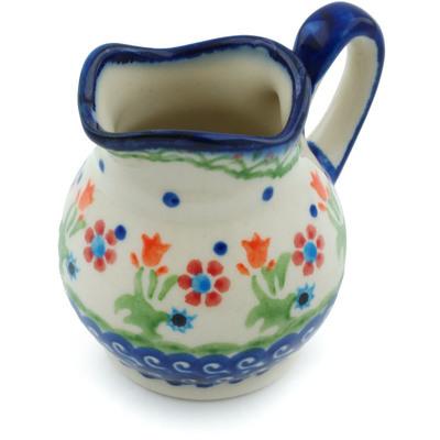 Polish Pottery 4 oz Creamer | Boleslawiec Stoneware | Polmedia H0035I