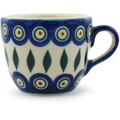 Polish Pottery 7 oz Cup | Boleslawiec Stoneware | Polmedia H9309H