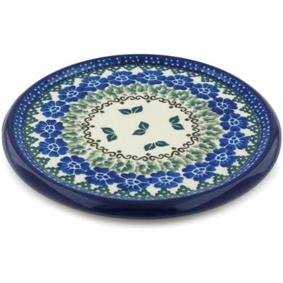 Polish Pottery 7-inch Cutting Board | Boleslawiec Stoneware | Polmedia H4178B
