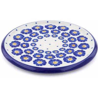 Polish Pottery 7-inch Cutting Board | Boleslawiec Stoneware | Polmedia H1182J