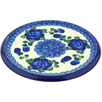 Polish Pottery 7-inch Cutting Board | Boleslawiec Stoneware | Polmedia H6813G