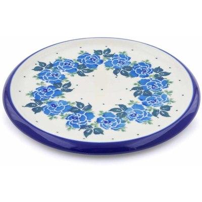 Polish Pottery 7-inch Cutting Board | Boleslawiec Stoneware | Polmedia H1129J