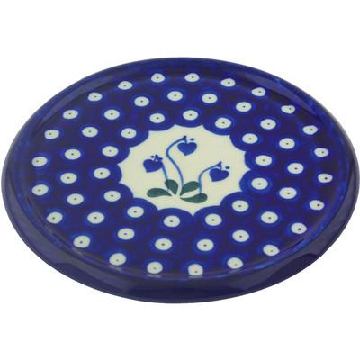 Polish Pottery 7-inch Cutting Board | Boleslawiec Stoneware | Polmedia H5964G