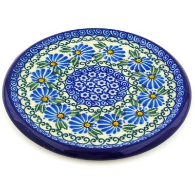 Polish Pottery 7-inch Cutting Board | Boleslawiec Stoneware | Polmedia H7861E