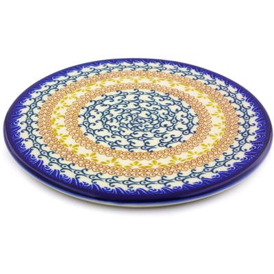 Polish Pottery 7-inch Cutting Board | Boleslawiec Stoneware | Polmedia H9128I
