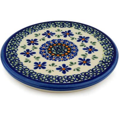 Polish Pottery 6-inch Cutting Board | Boleslawiec Stoneware | Polmedia H6207C