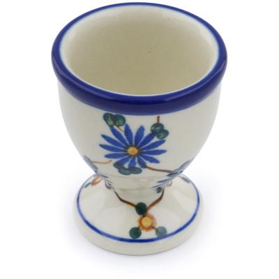 Polish Pottery 2-inch Egg Holder | Boleslawiec Stoneware | Polmedia H7121A