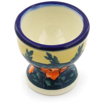 Polish Pottery 2-inch Egg Holder | Boleslawiec Stoneware | Polmedia H0910F