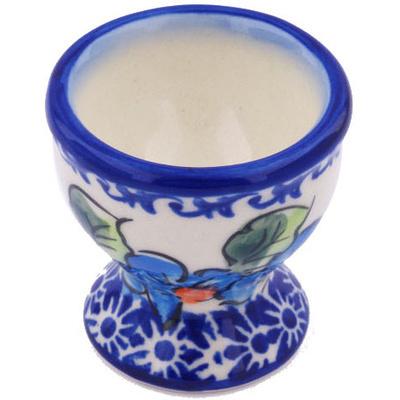 Polish Pottery 2-inch Egg Holder | Boleslawiec Stoneware | Polmedia H7845G