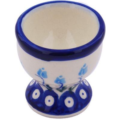 Polish Pottery 2-inch Egg Holder | Boleslawiec Stoneware | Polmedia H7844G