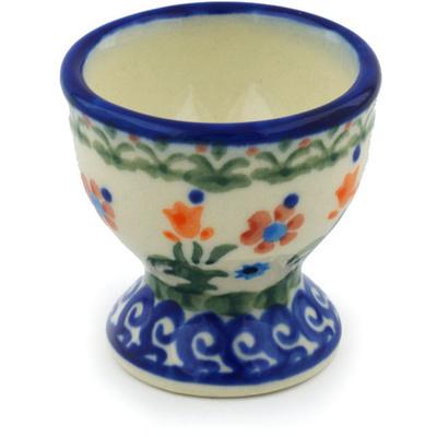 Polish Pottery 2-inch Egg Holder | Boleslawiec Stoneware | Polmedia H3835E