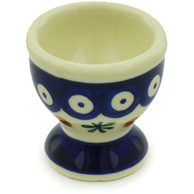 Polish Pottery 2-inch Egg Holder | Boleslawiec Stoneware | Polmedia H0640H