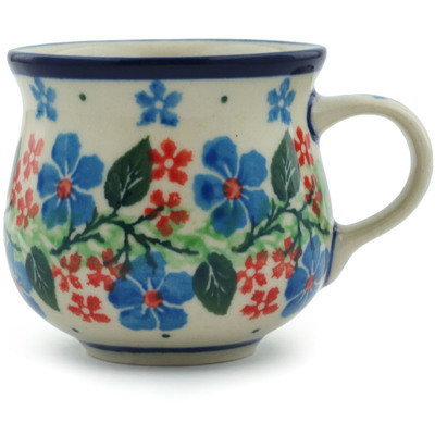 Polish Pottery 2 oz Espresso Cup | Boleslawiec Stoneware | Polmedia H1774I