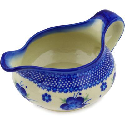 Polish Pottery 19 oz Gravy Boat | Boleslawiec Stoneware | Polmedia H3796E