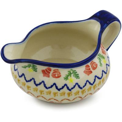 Polish Pottery 19 oz Gravy Boat | Boleslawiec Stoneware | Polmedia H1002H