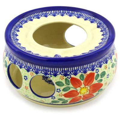 Polish Pottery 6-inch Heater | Boleslawiec Stoneware | Polmedia H8016F
