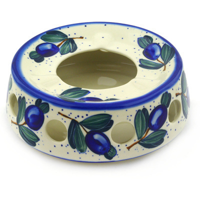 Polish Pottery 7-inch Heater | Boleslawiec Stoneware | Polmedia H1512F