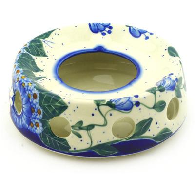 Polish Pottery 7-inch Heater | Boleslawiec Stoneware | Polmedia H1513F