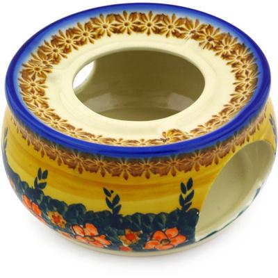 Polish Pottery 6-inch Heater   Boleslawiec Stoneware   Polmedia H0731F