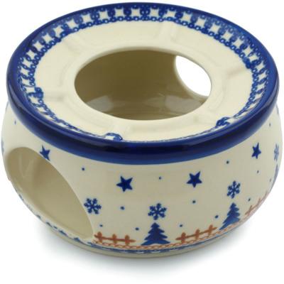Polish Pottery 6-inch Heater | Boleslawiec Stoneware | Polmedia H0491I