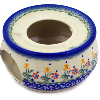 Polish Pottery 6-inch Heater | Boleslawiec Stoneware | Polmedia H0396C