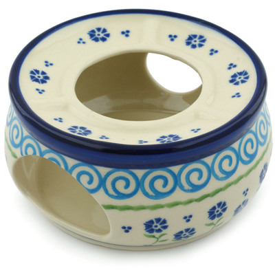Polish Pottery 6-inch Heater | Boleslawiec Stoneware | Polmedia H9856H