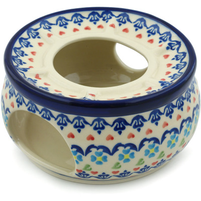 Polish Pottery 6-inch Heater | Boleslawiec Stoneware | Polmedia H9857H