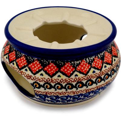 Polish Pottery 5-inch Heater | Boleslawiec Stoneware | Polmedia H9747C