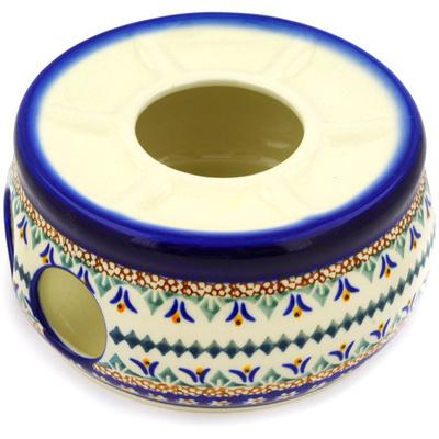 Polish Pottery 6-inch Heater | Boleslawiec Stoneware | Polmedia H9960D