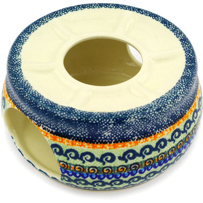 Polish Pottery 6-inch Heater | Boleslawiec Stoneware | Polmedia H9961D
