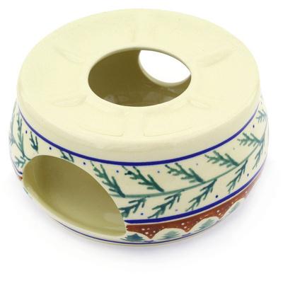 Polish Pottery 6-inch Heater | Boleslawiec Stoneware | Polmedia H2655E