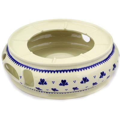Polish Pottery 11-inch Heater | Boleslawiec Stoneware | Polmedia H1907E