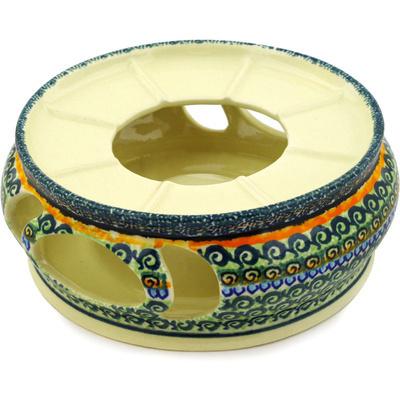 Polish Pottery 7-inch Heater | Boleslawiec Stoneware | Polmedia H5616D