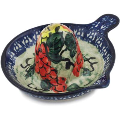 Polish Pottery 5-inch Juice Reamer   Boleslawiec Stoneware   Polmedia H5465F