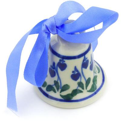 Polish Pottery 2-inch Mini Bell | Boleslawiec Stoneware | Polmedia H6547G