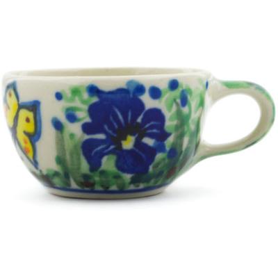 Polish Pottery 2-inch Mini Cup | Boleslawiec Stoneware | Polmedia H4603G