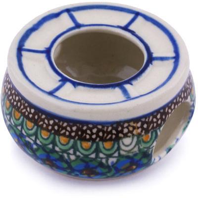 Polish Pottery 2-inch Mini Heater | Boleslawiec Stoneware | Polmedia H6273G